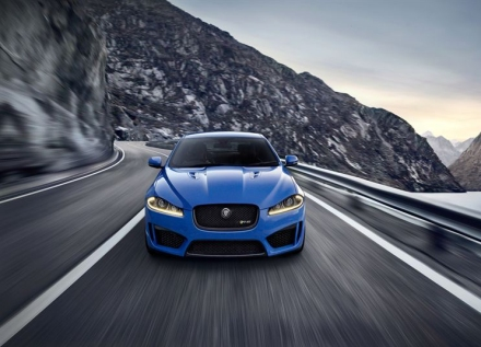 Jag XFR-S front
